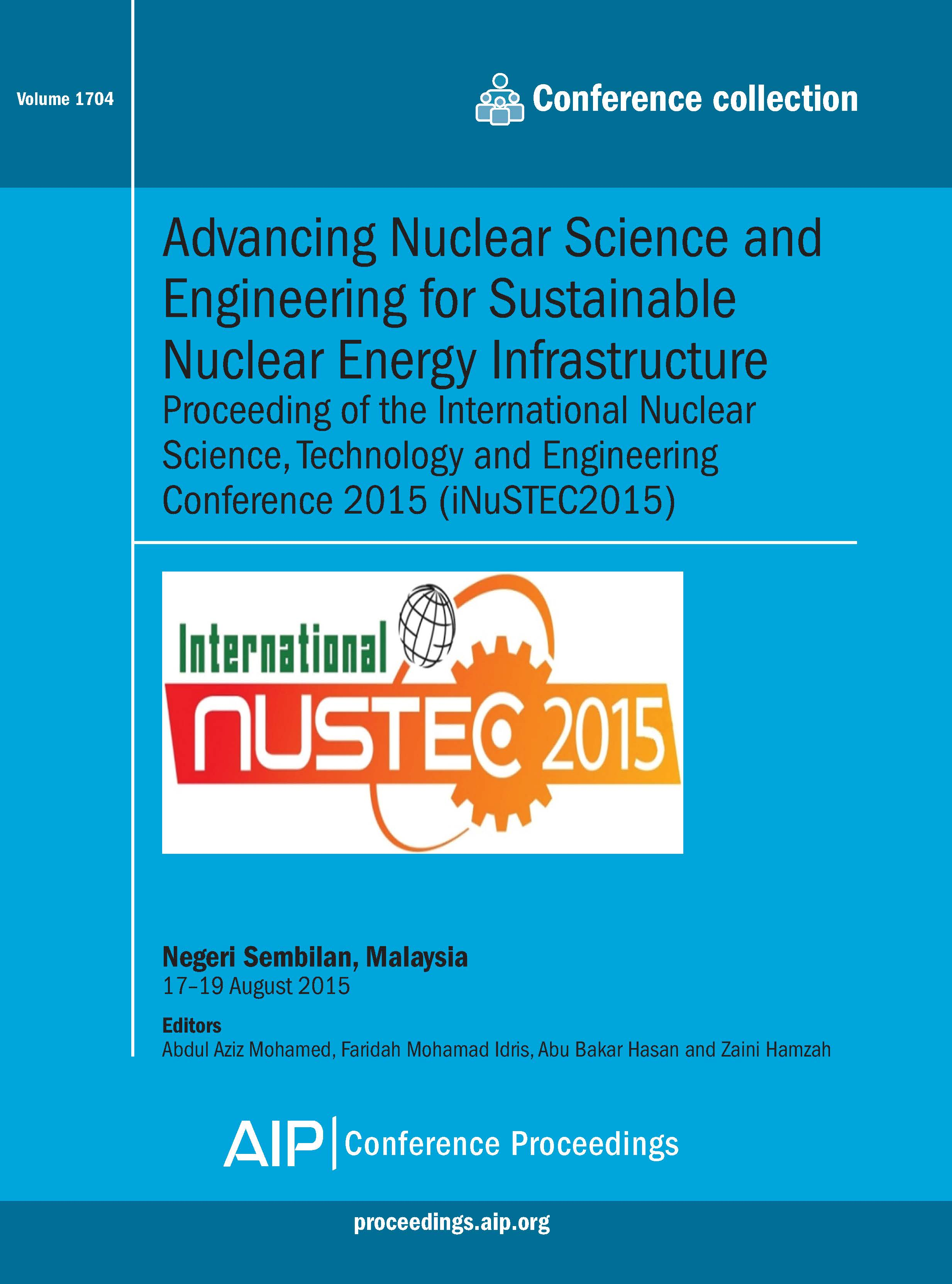 Volume 1704: Advancing Nuclear Science and Engineering for