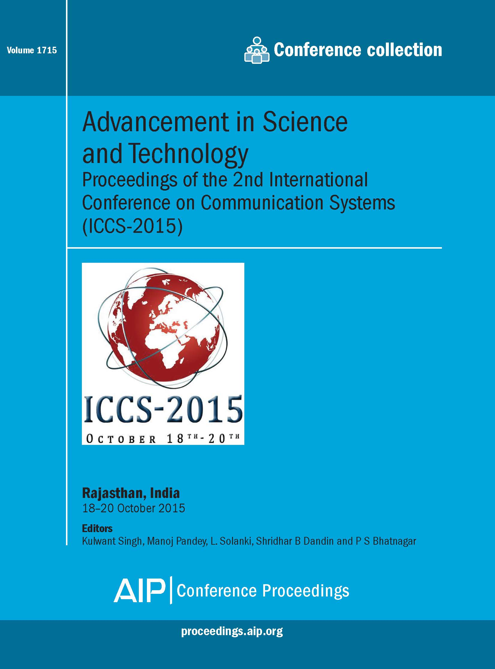 Volume 1715: Advancement in Science and Technology | AIP