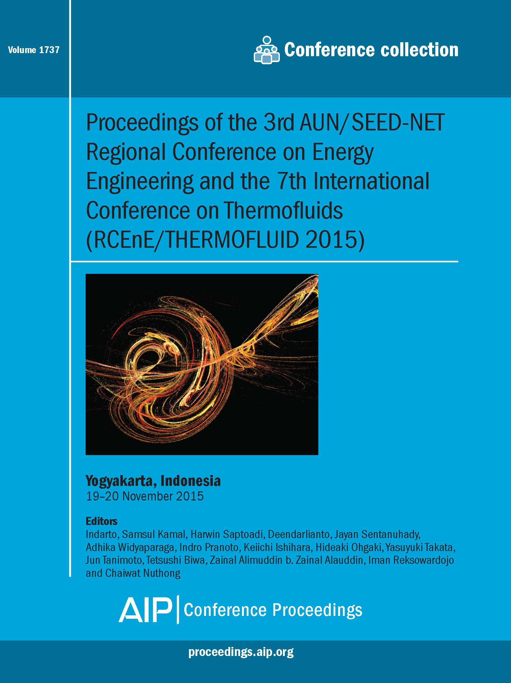 Volume 1737: Proceedings of the 3rd AUN/SEED-NET Regional Conference