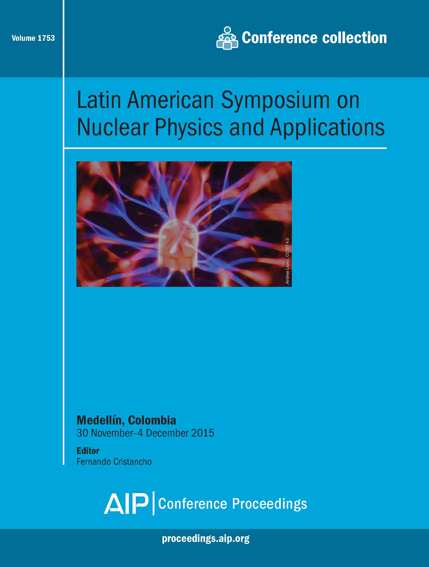Volume 1753: Latin American Symposium on Nuclear Physics and