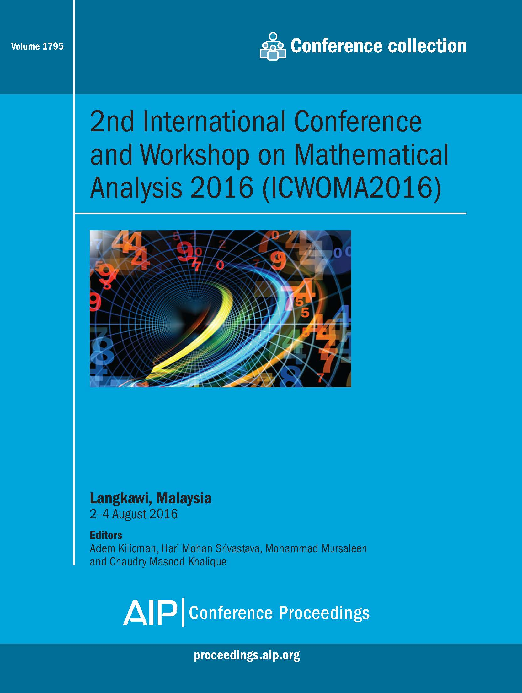 Volume 1795: 2nd International Conference and Workshop on