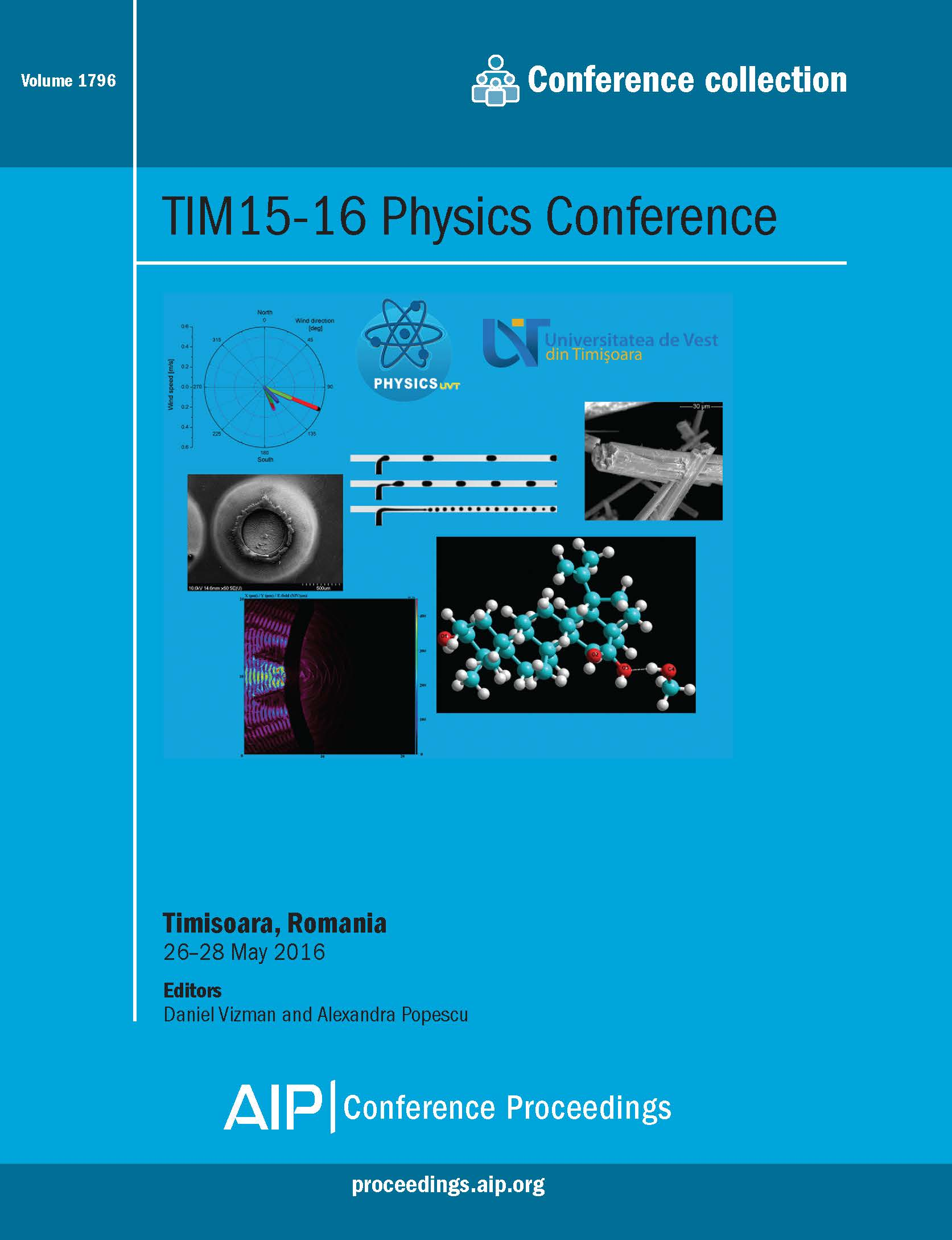 Volume 1796: TIM15-16 Physics Conference | AIP Publishing Print on