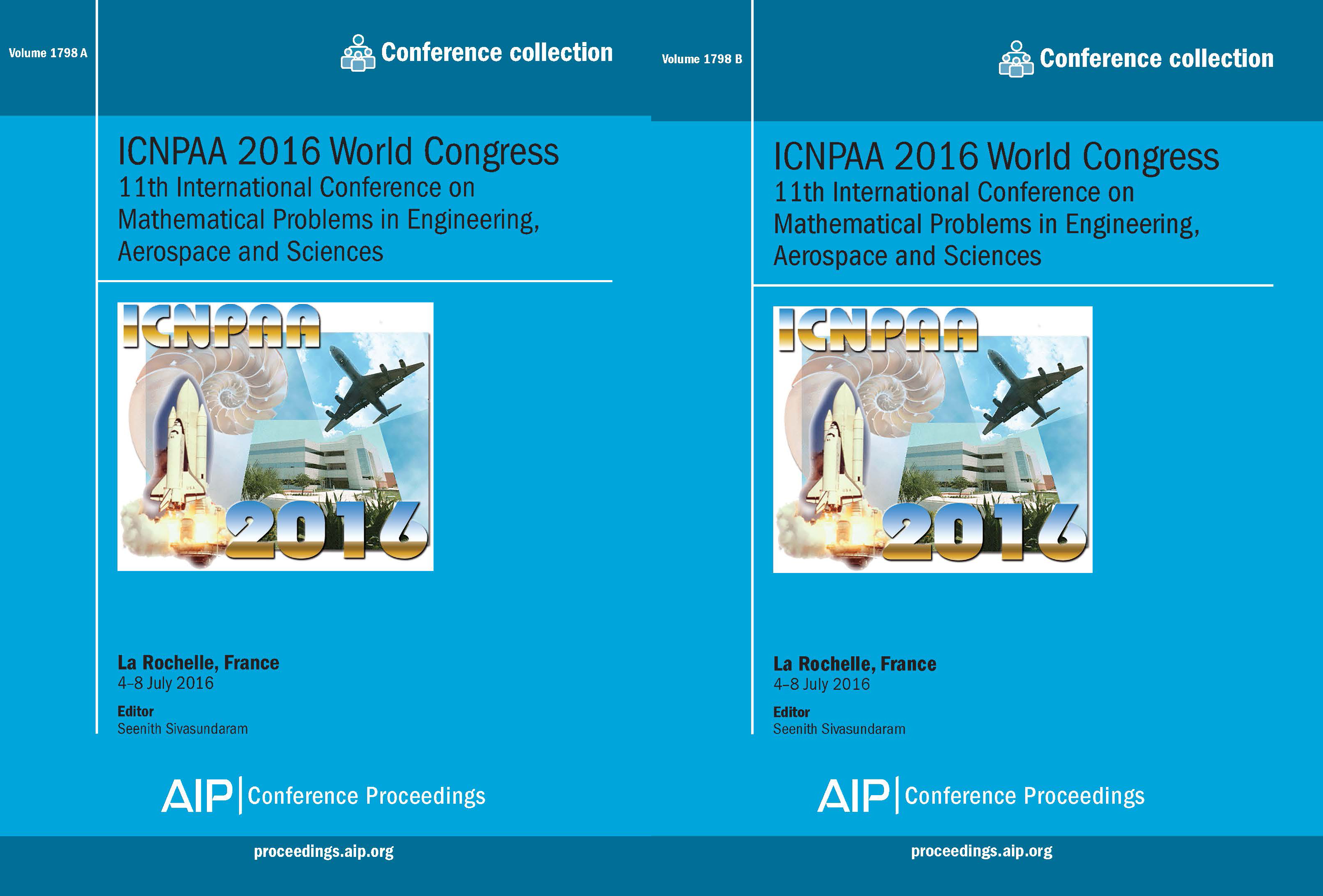 Volume 1798: ICNPAA 2016 World Congress: 11th International