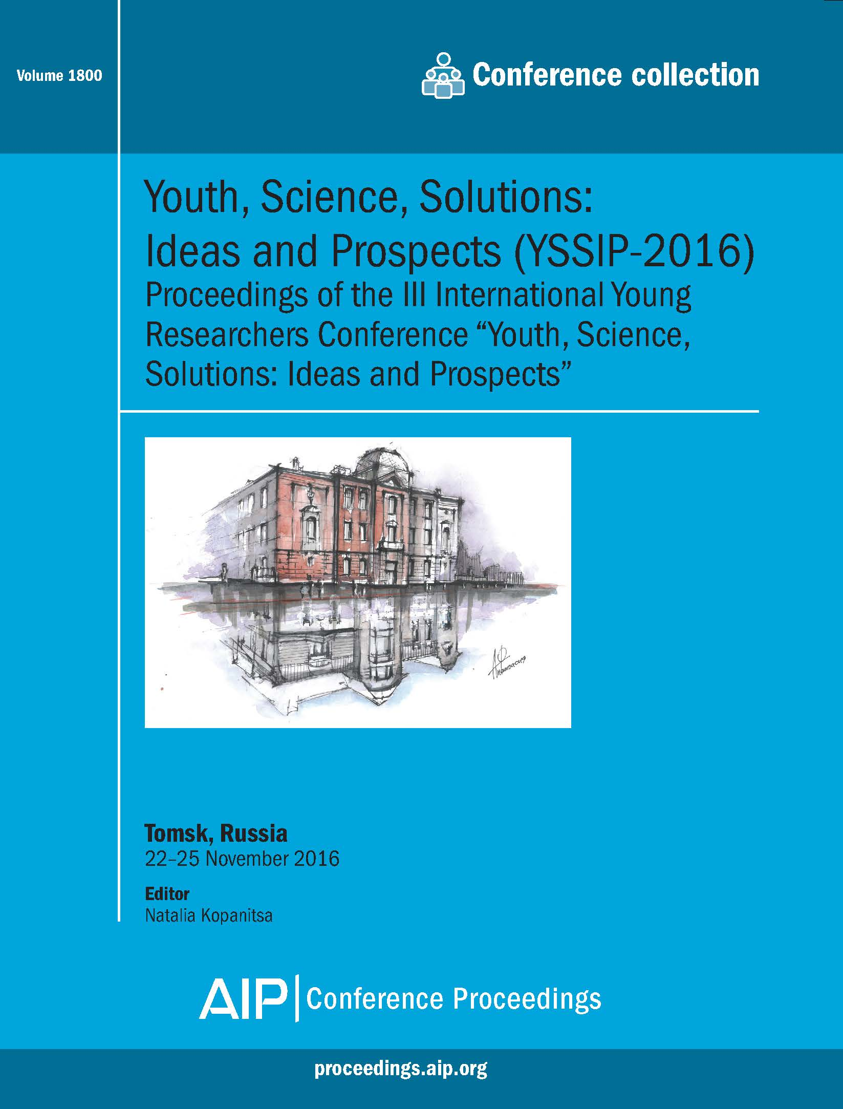 Volume 1800: Youth, Science, Solutions: Ideas and Prospects (YSSIP