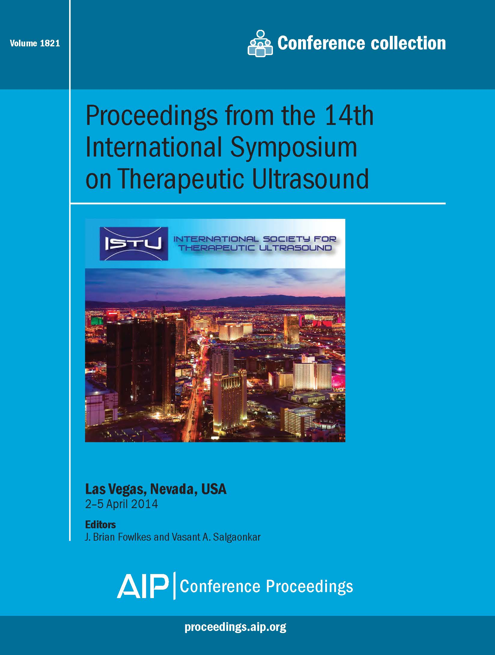 Volume 1821: Proceedings from the 14th International Symposium on