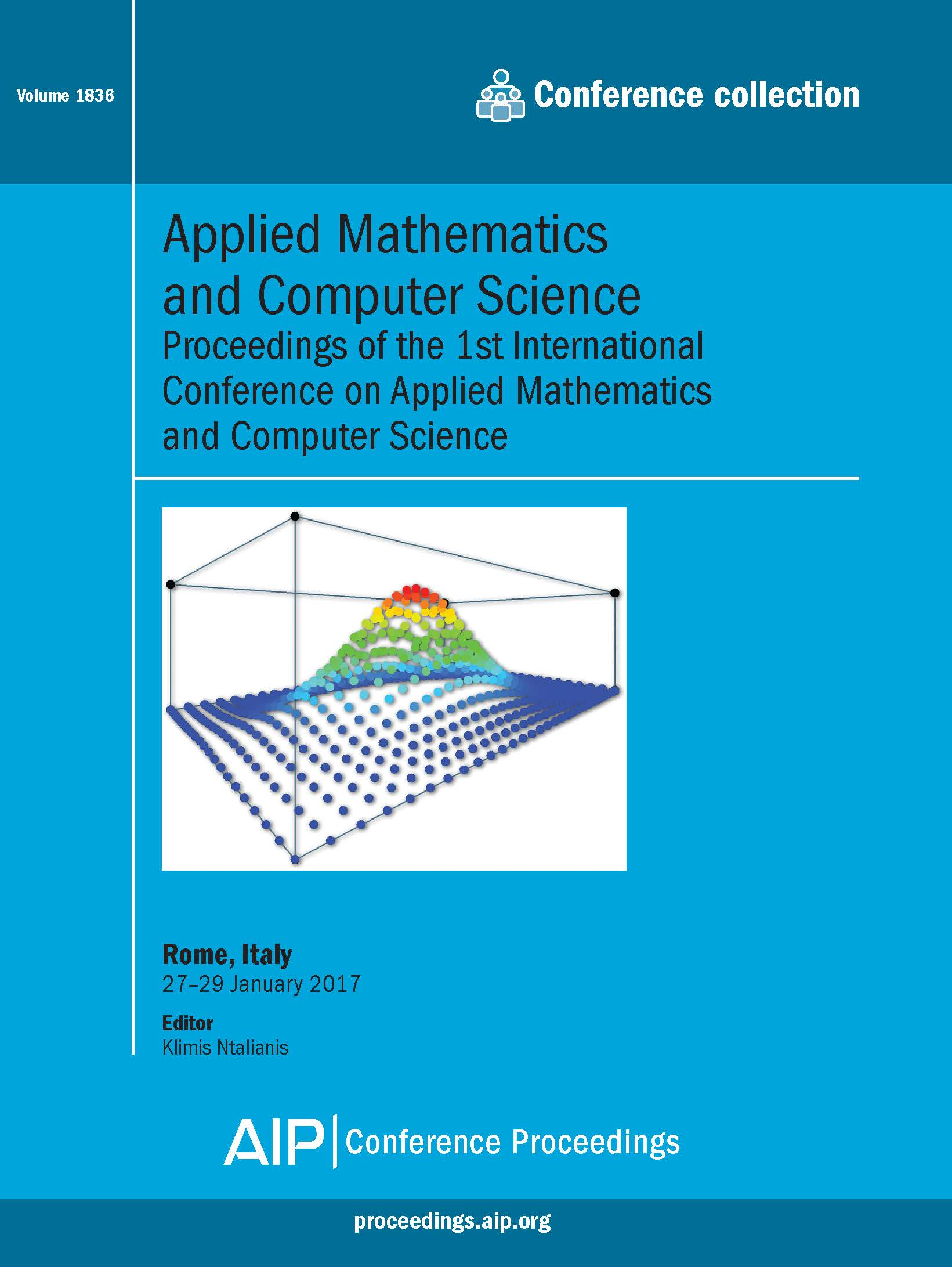 Volume 1836: Applied Mathematics and Computer Science | AIP