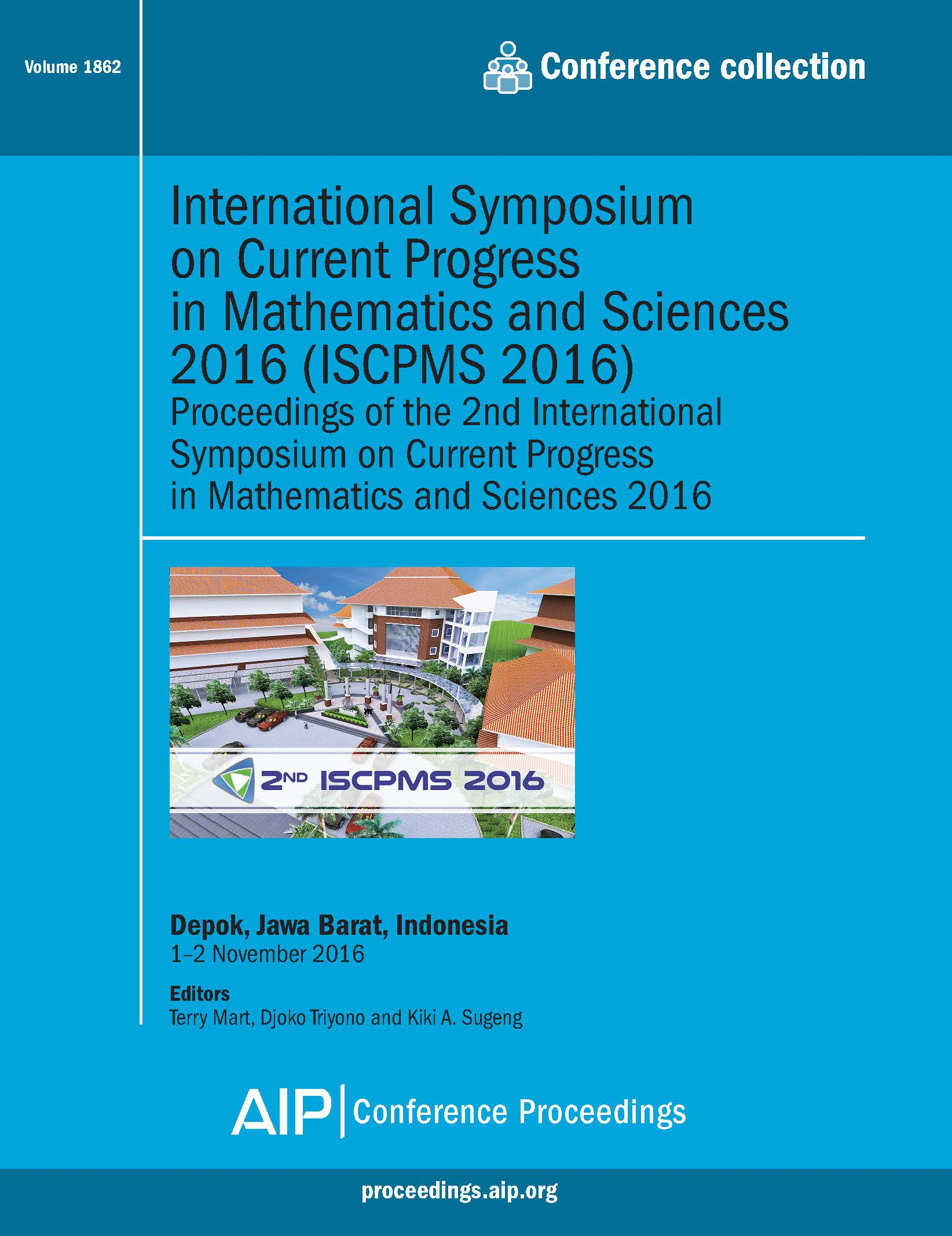 Volume 1862: International Symposium on Current Progress in