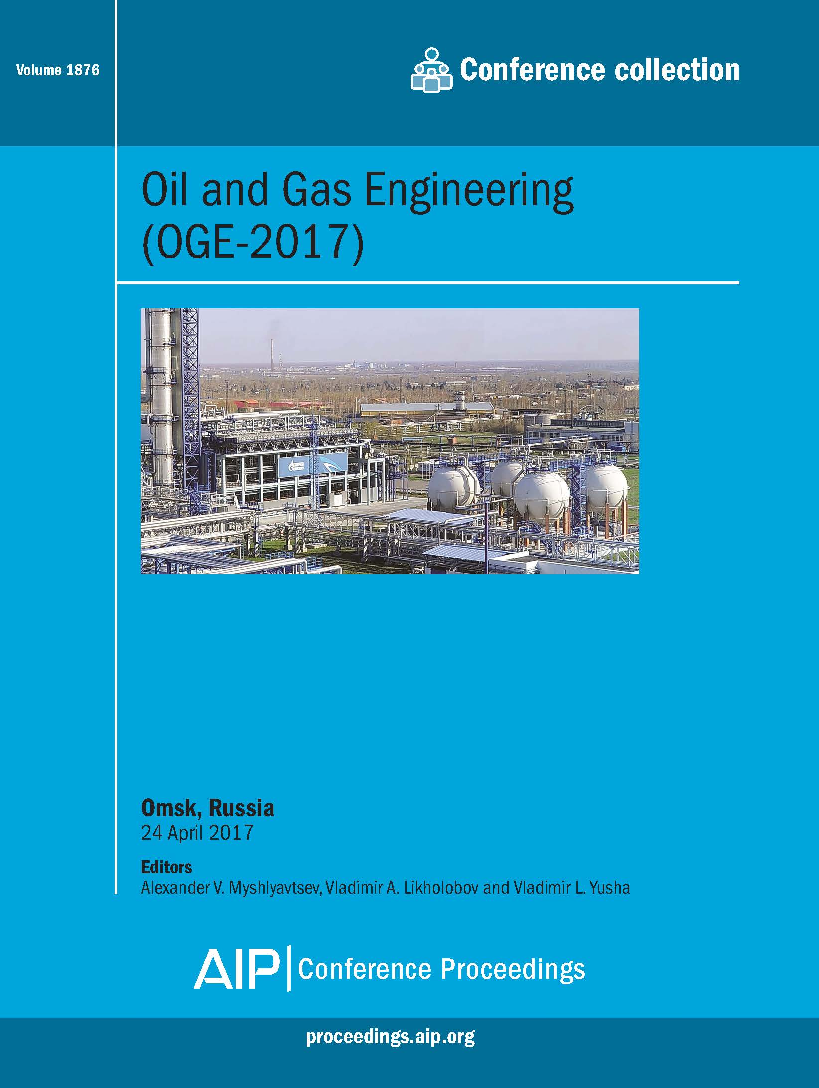 Volume 1876: Oil and Gas Engineering (OGE-2017)   AIP Publishing