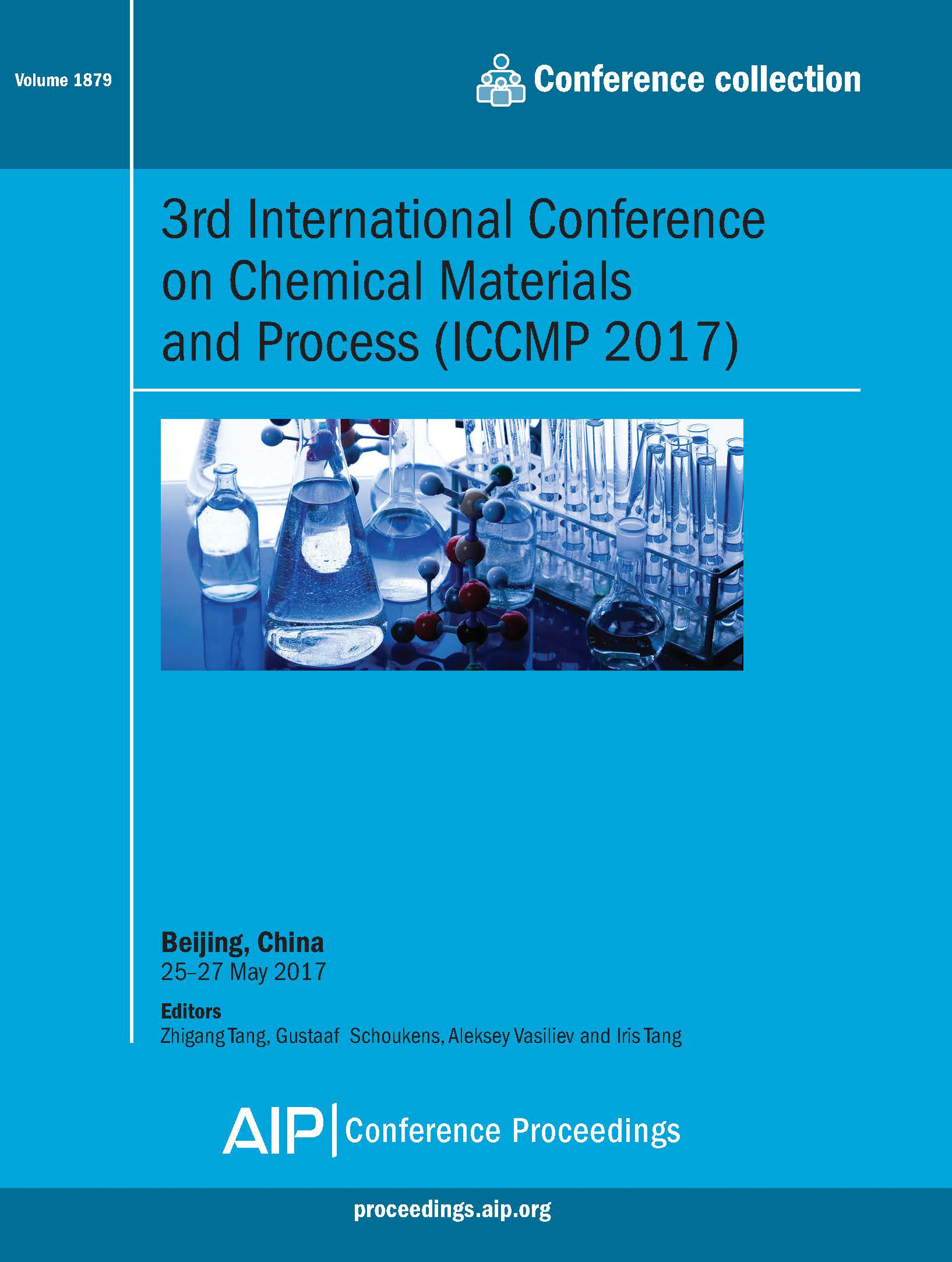 Volume 1879: 3rd International Conference on Chemical