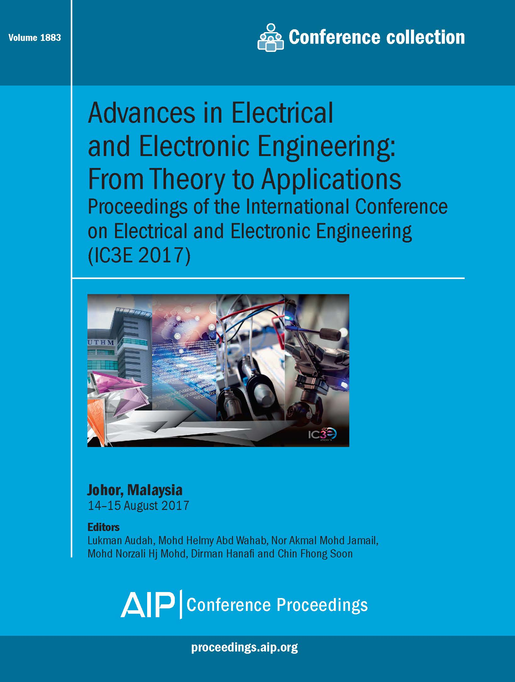 Volume 1883: Advances in Electrical and Electronic Engineering: From