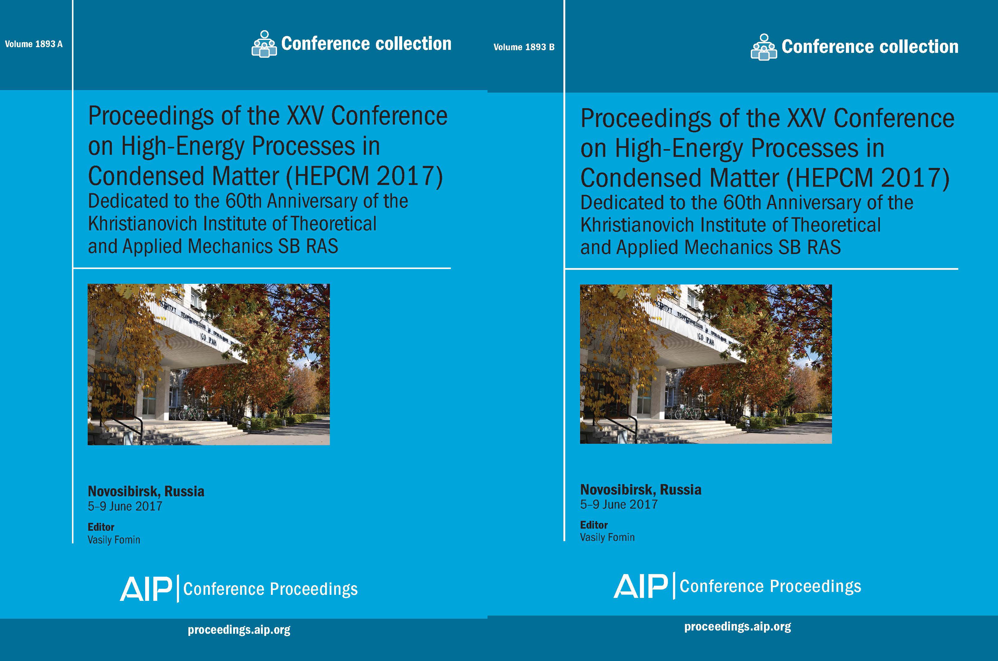 Volume 1893: Proceedings of the XXV Conference on High-Energy