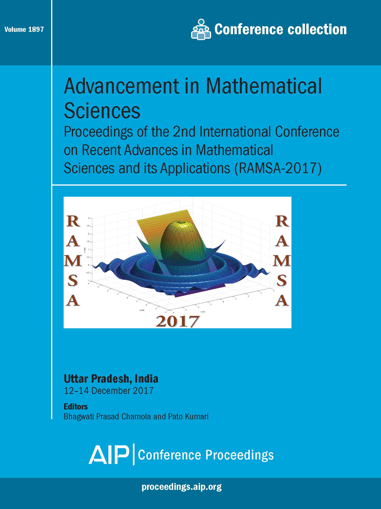 Volume 1897: Advancement in Mathematical Sciences | AIP Publishing