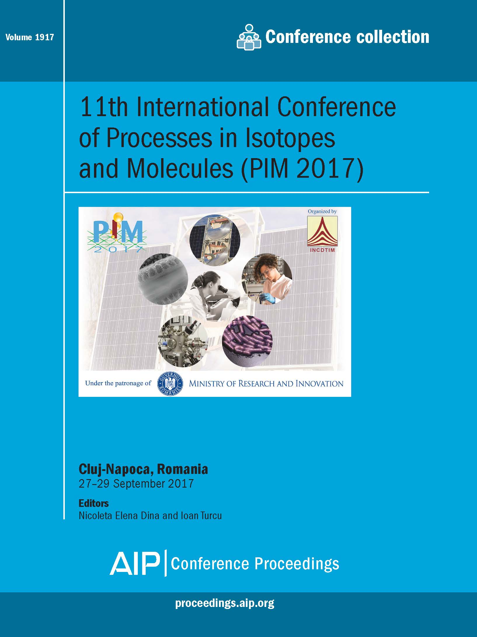 Volume 1917: 11th International Conference on Processes in Isotopes