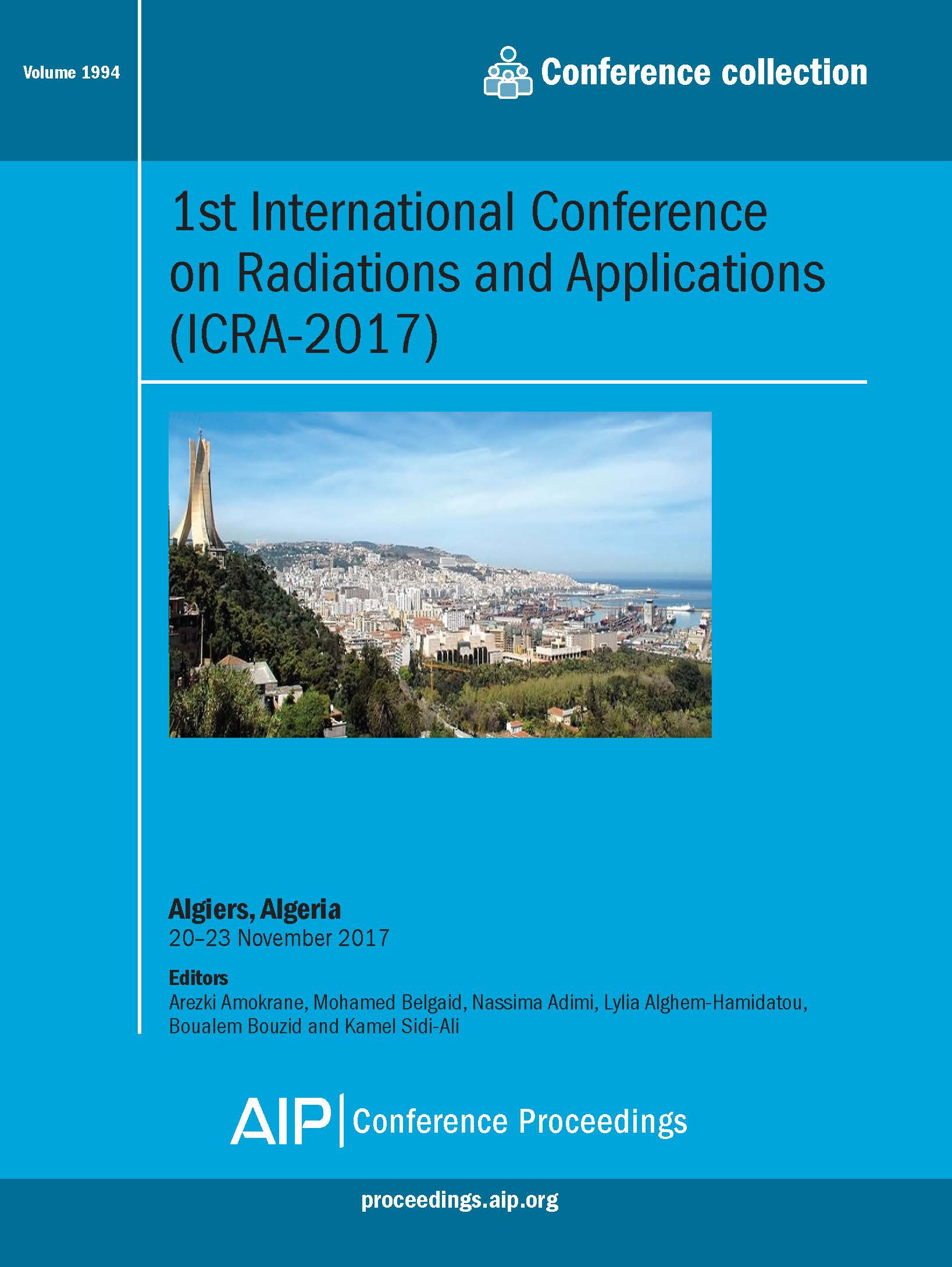 Volume 1994: 1st International Conference on Radiations and