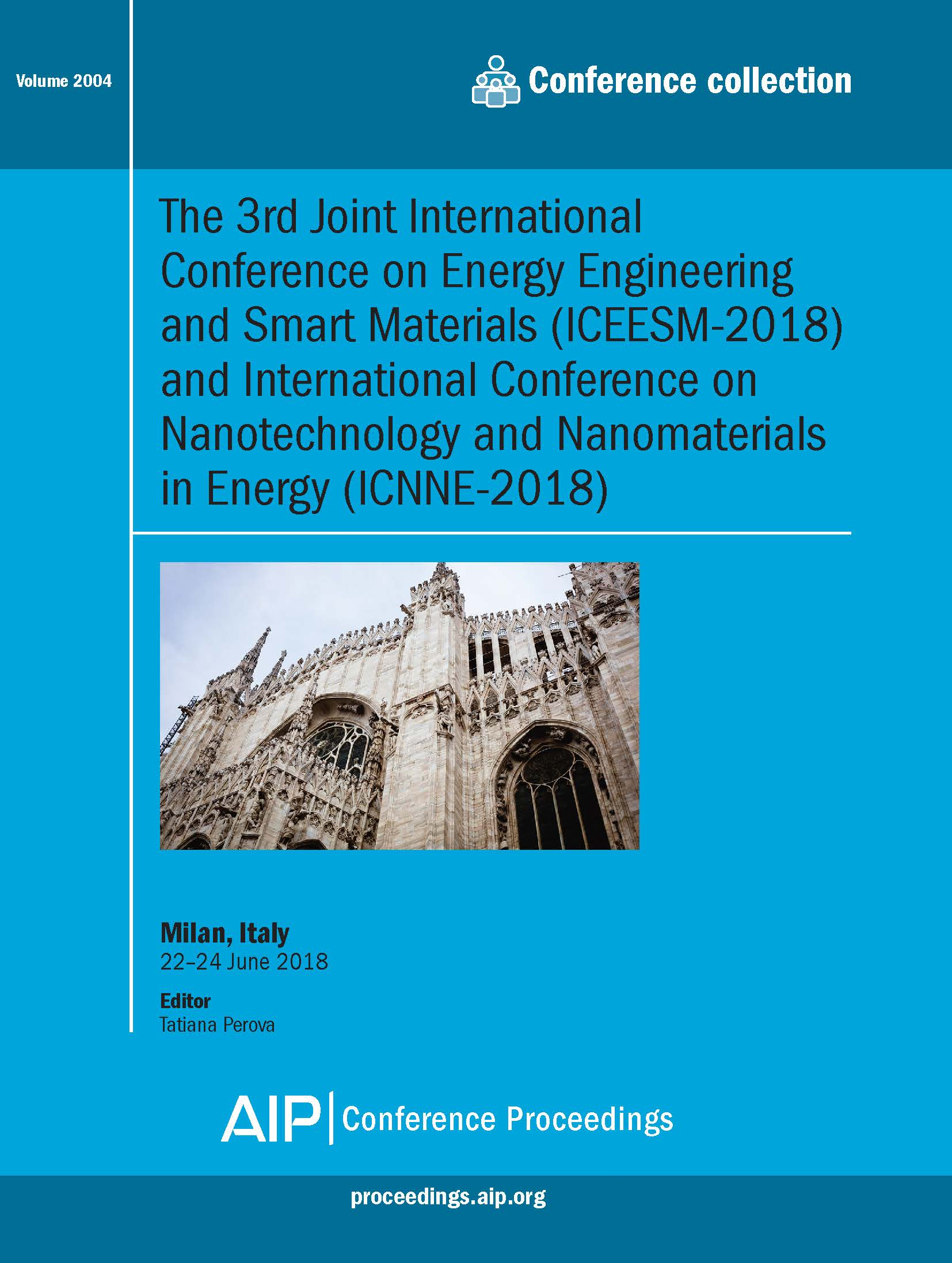 Volume 2004: The 3rd Joint International Conference on Energy