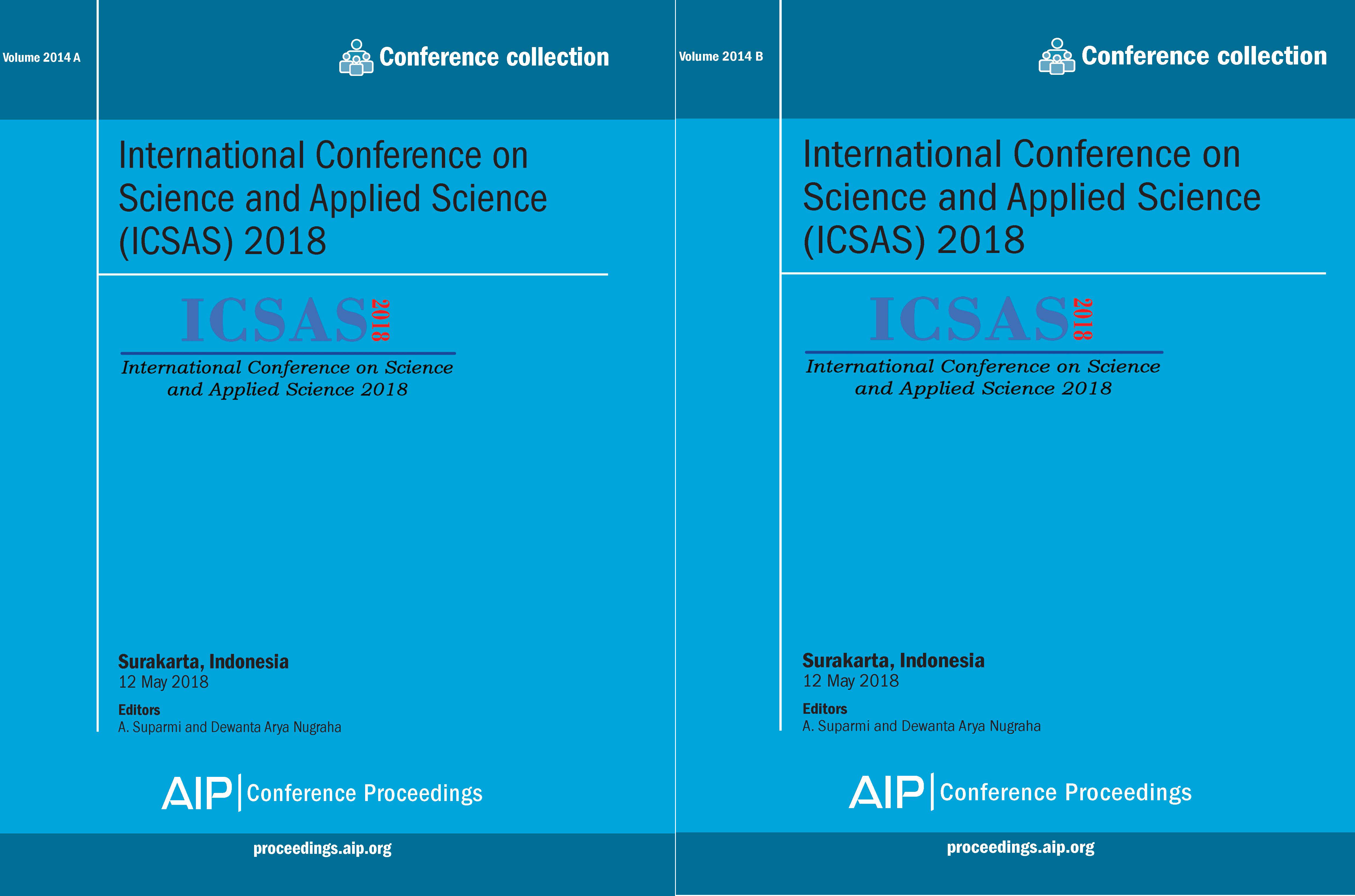 Volume 2014: International Conference on Science and Applied